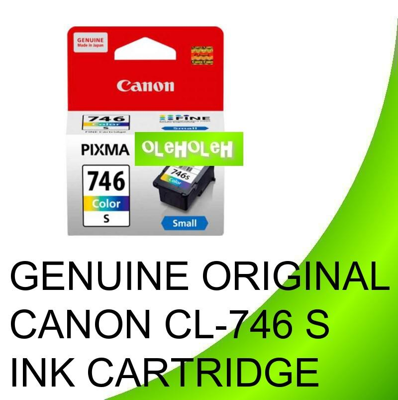 GENUINE ORIGINAL CANON CL-746 S INK CARTRIDGE