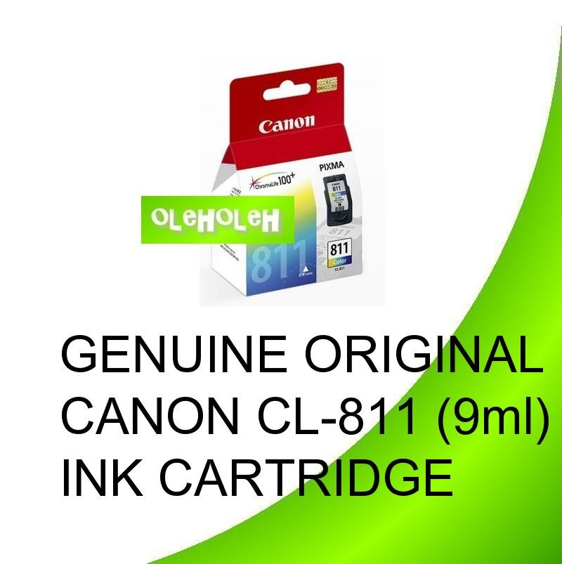 GENUINE ORIGINAL CANON CL-811 (9ml)INK CARTRIDGE