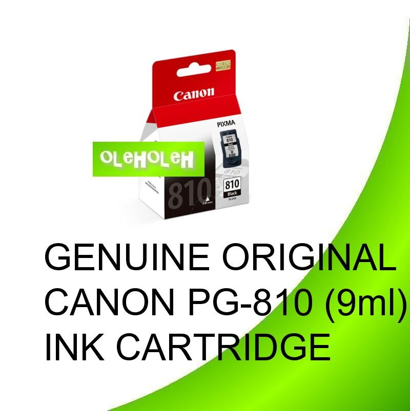 GENUINE ORIGINAL CANON PG-810 Black INK CARTRIDGE