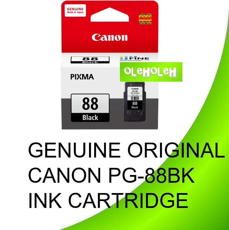 GENUINE ORIGINAL CANON PG-88BK INK CARTRIDGE