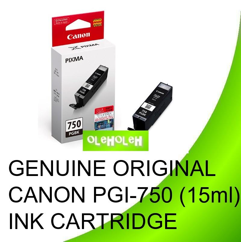 Genuine Original Canon PGI-750 (15ml) Ink Cartridge