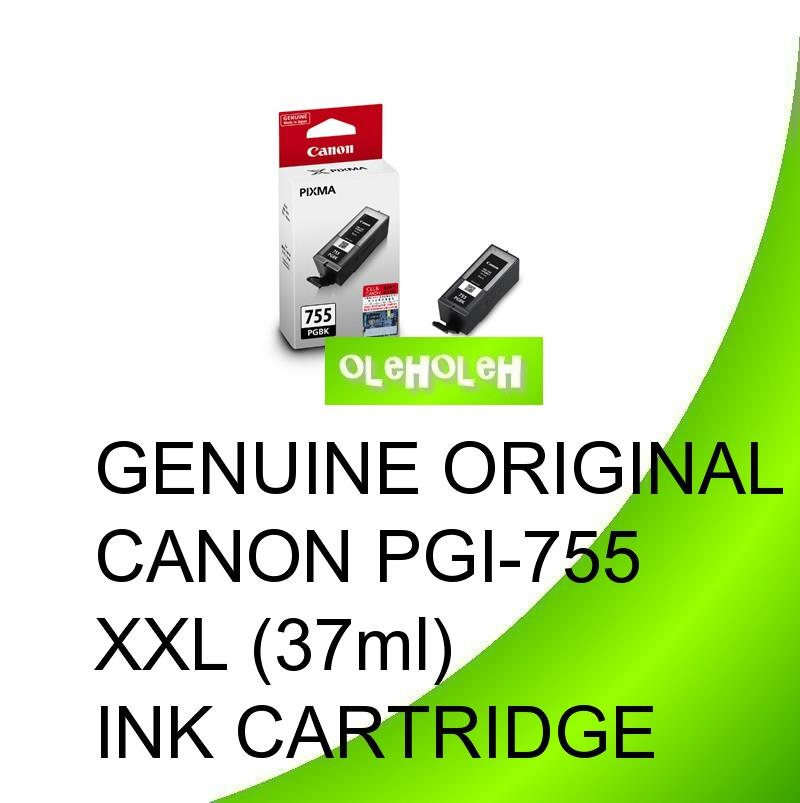 Genuine Original Canon PGI-755 XXL (37ml) Ink Cartridge