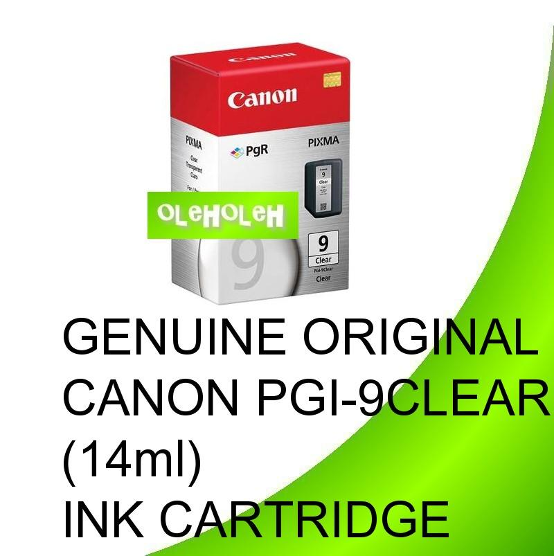 GENUINE ORIGINAL CANON PGI-9CLEAR (14ml)INK CARTRIDGE