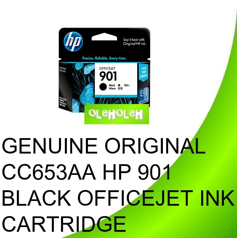 Genuine Original CC653AA HP 901 Black Officejet Ink Cartridge