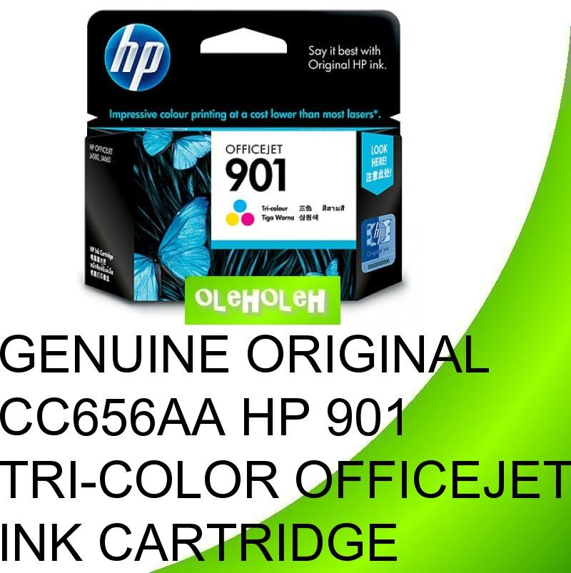 Genuine Original CC656AA HP 901 Tri-color Officejet Ink Cartridge