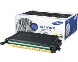 Genuine Samsung CLP-Y660B Yellow Toner Catridge (5k pgs)
