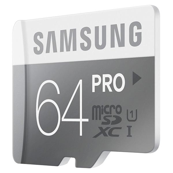 Genuine SAMSUNG PRO 64GB Micro SD SDXC Memory Card ~90MB/s Write 80MB