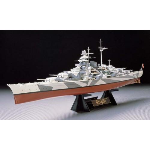 GERMAN BATTLESHIP TIRPITZ (Tamiya) 78015 1/350 - LIMITED EDITION