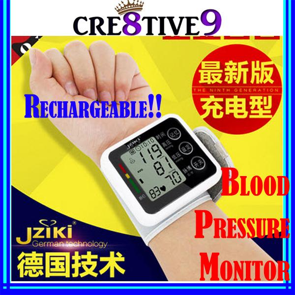 German Technology!! Electronic Wrist Blood Pressure Monitor (jzk01)