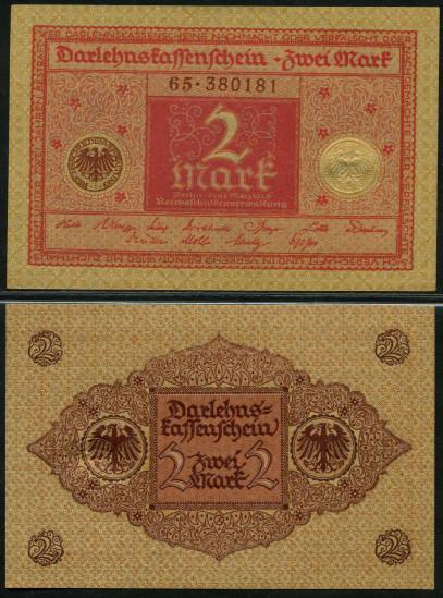 Germany 2 Mark 1920 xf p 59