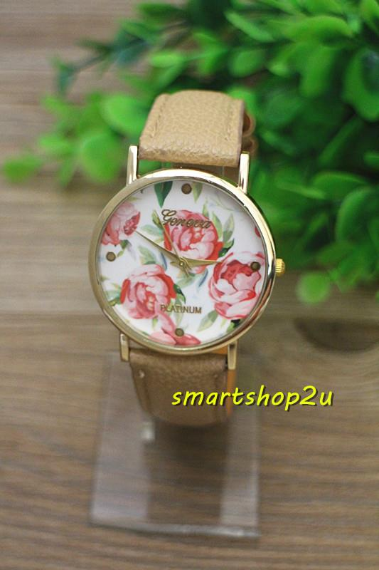 Gevena Flora Design Ladies Fashion Quartz Watch (Ge003)~