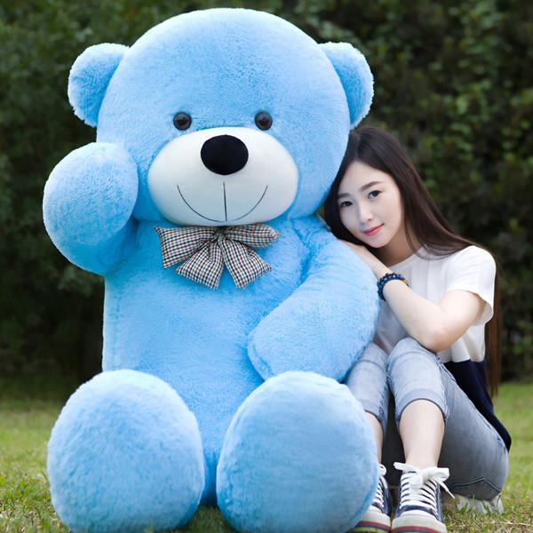 Giant Teddy Bear With Ribbon 1.2 Meter