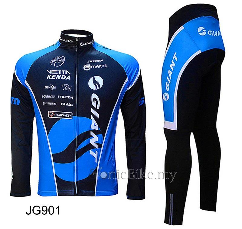 Giant Upgrade Version Long Sleeve Cycling Jersey / Cycling Wear- JG901