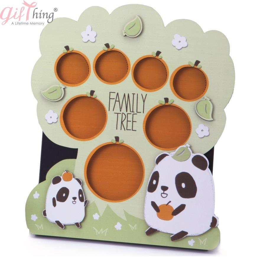 GIFTHING Cutie Panda Photo Frame - for newborn birth party gift