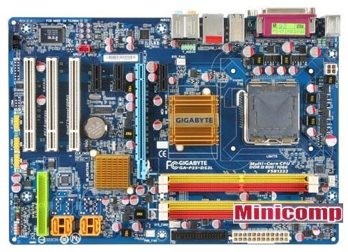 Gigabyte GA P35 DS3L Intel 775 Mainboard / Motherboard