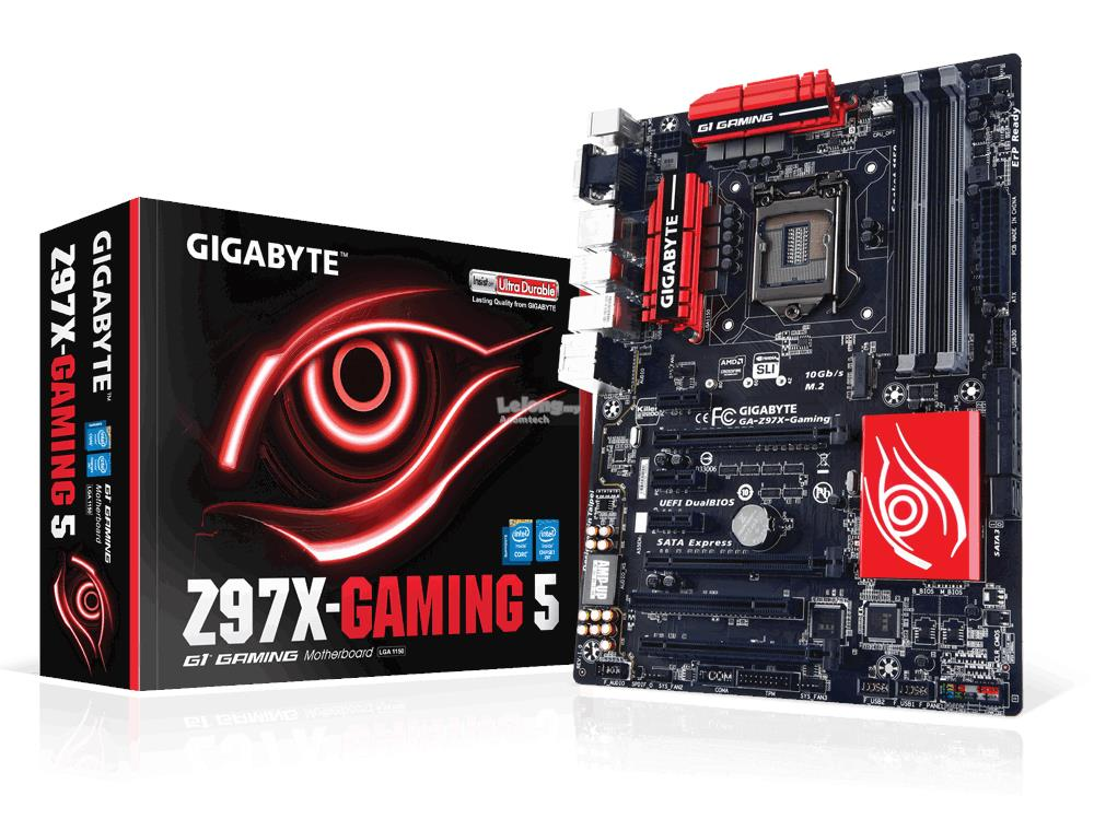 GIGABYTE GA-Z97X-Gaming 5 Socket 1150 ATX Mainboard
