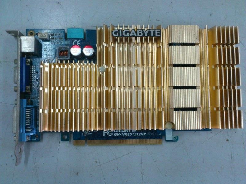 Gigabyte GeForce 8500GT 512MB DDR2 PCI-E Graphic Card 220814