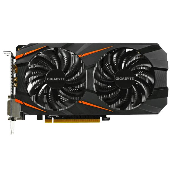 GIGABYTE GEFORCE GTX 1060 WINDFORCE 6G (GV-N1060WF2OC-6GD)