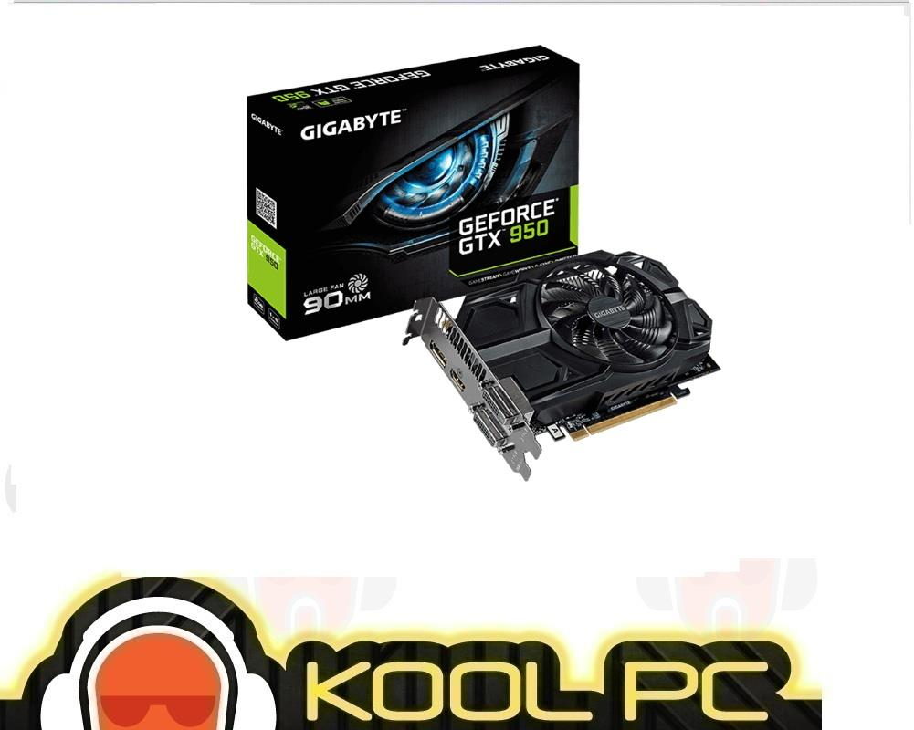 Gigabyte GTX950 2GB GDDR5 (Low Power) GV-N950D5-2GD
