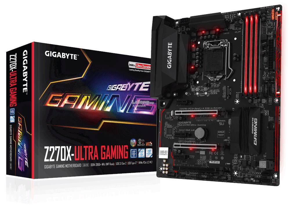 Gigabyte Intel GA-Z270X-Ultra Gaming Mainboard