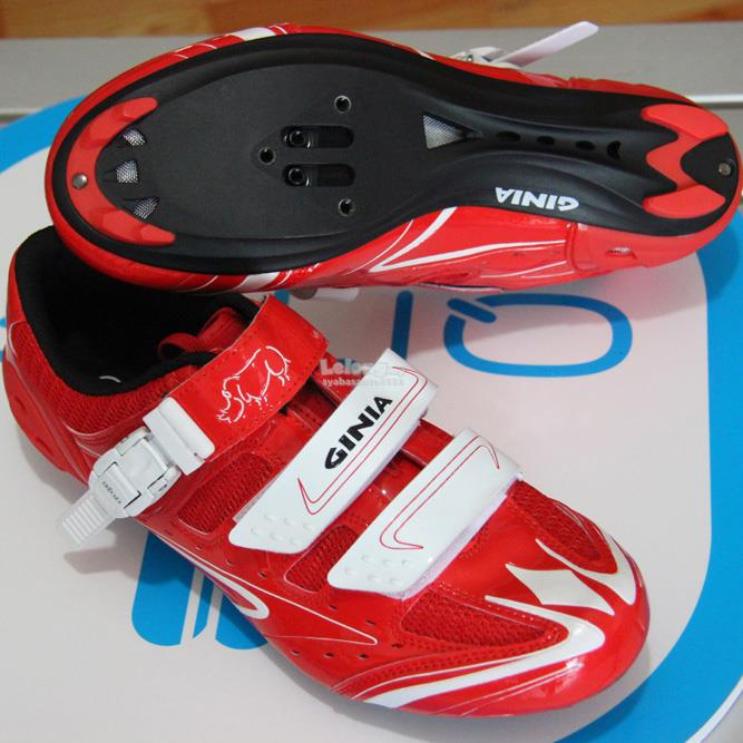 Ginia Professional Cycling Breathable Men Shoes Self Locking