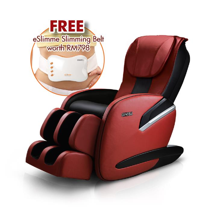 GINTELL DeVas Compact Massage Chair FREE eSlimme slimming Belt