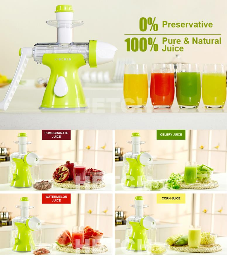 Giocoso Manual Slow Juicer & (end 6/29/2017 2:15 PM - MYT )