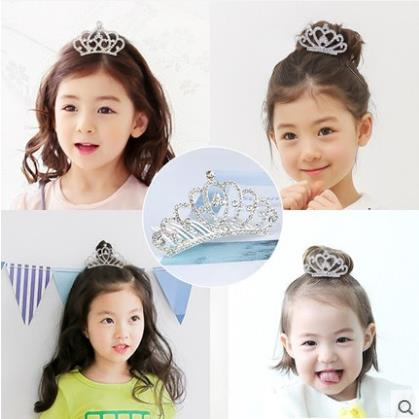 Little Girl Hairpin Crown Hairband