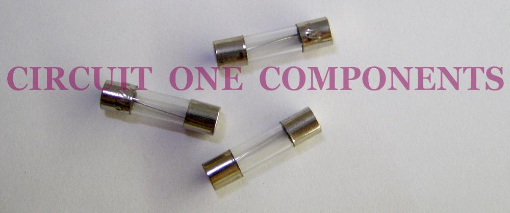 Glass Fuse 250v 0.25A 5 x 20mm ( 5 pcs / pack )