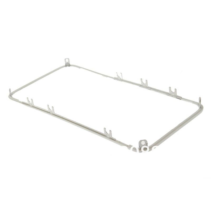 Glass Lens Bezel Middle Frame For Apple iphone 4S 4G