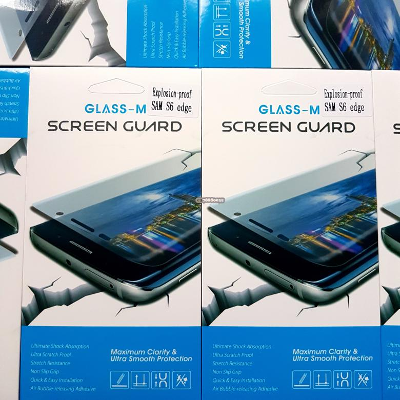 Glass-M Samsung Galaxy S6 Edge Full Screen Protector