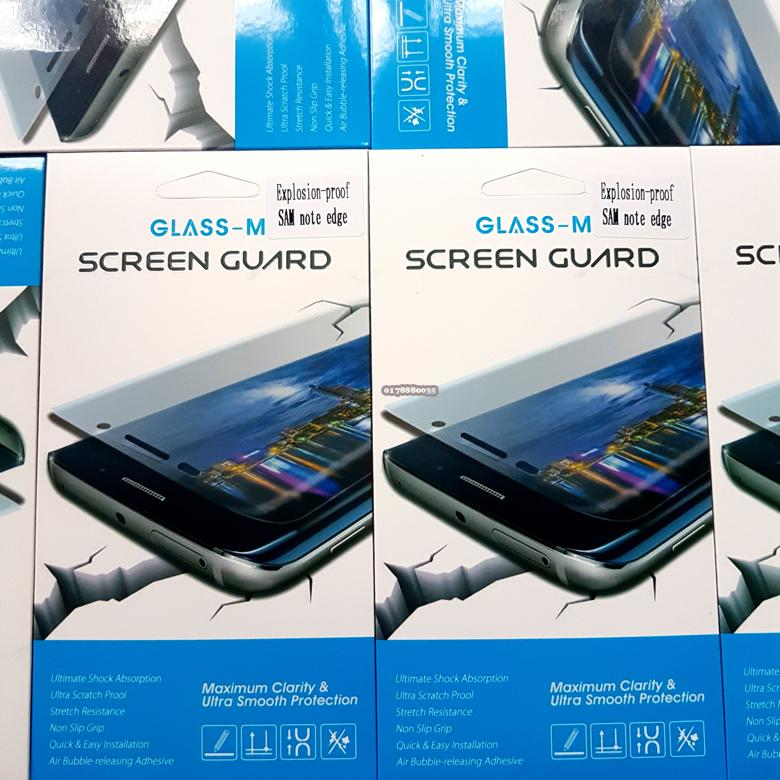 Glass-M Samsung Note Edge Full Screen Protector