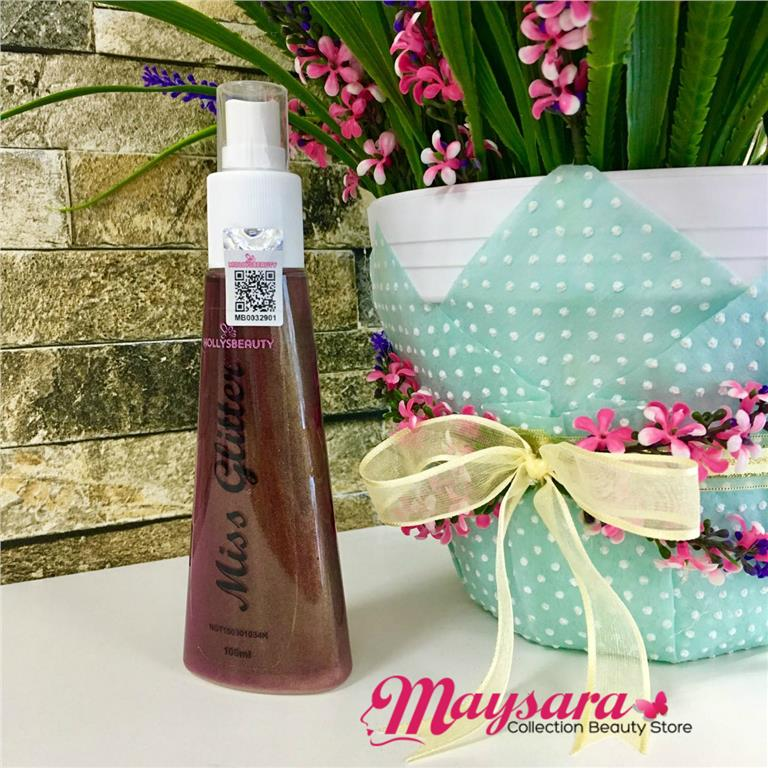 Miss Glitter Spray by MollysBeauty (100ml) + Free Gift