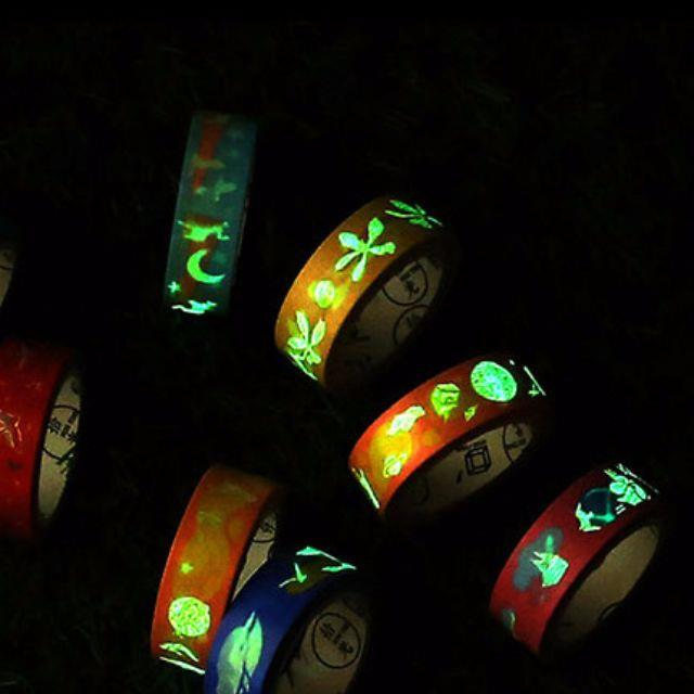 Glow in The Dark Washi Tape