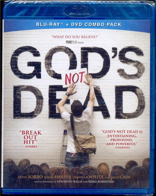 God's Not Dead - New Blu-Ray