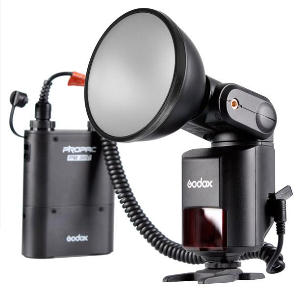 Godox Witstro Powerful & Portable Flash AD360 Bare Bulb Sys with Batt
