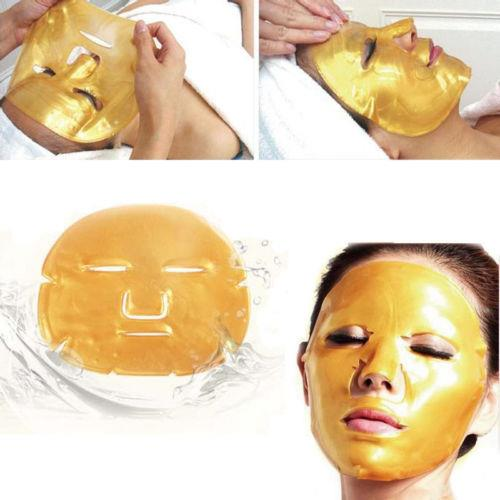 Gold Collagen Crystal Face Masks Anti Ageing Skin Care Facial Mask-pac