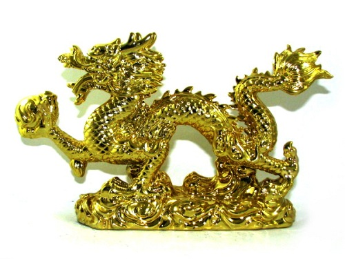 Golden Dragon for Power and Success - Feng Shui Products