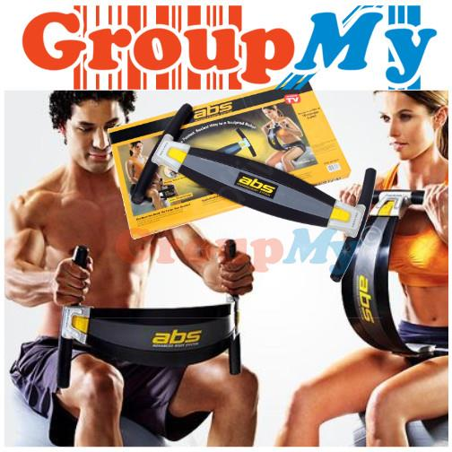 Golds Gym ABS Advanced Body System Ab Exercise Abdominal Trainer