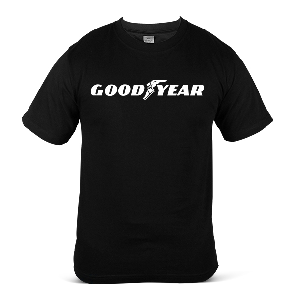 GOODYEAR Car Truck Lorry SUV Tyre Tire & Rubber 100% Cotton T-Shirt 1