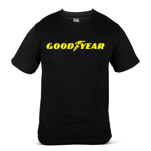 GOODYEAR Car Truck Lorry SUV Tyre Tire & Rubber 100% Cotton T-Shirt