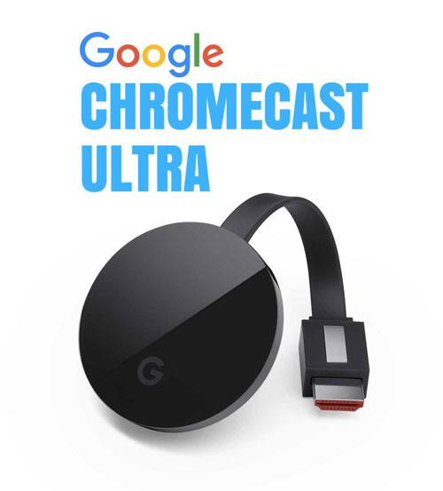 Google Chromecast Ultra Streaming D (end 12/13/2017 4:15 PM)