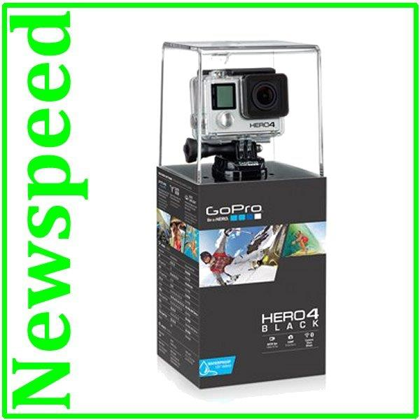 GoPro HERO4 Black Edition 4K Ultra HD video Action Camera