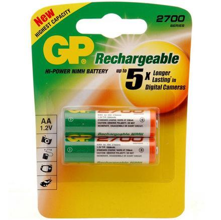 GP AA 2700 Battery - 2 pieces