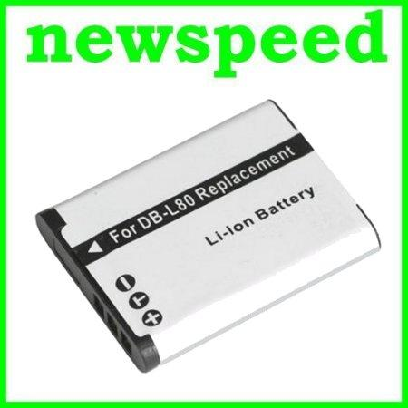 Grade A DB-L80 Battery for Sanyo GH1 GH2 GH3 CG-100 CG-10 CG-20