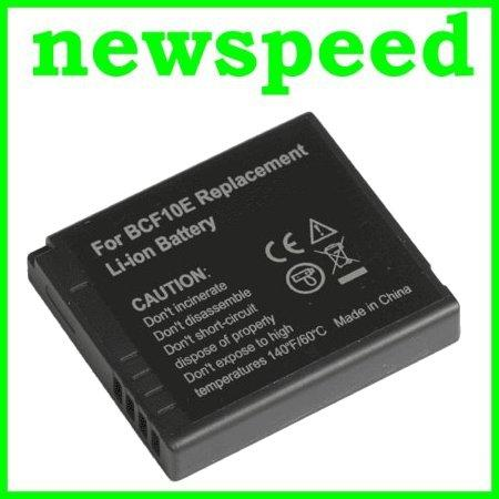 Grade A DMW-BCF10 / CGA-S106B Li-Ion Battery for Panasonic FH1 BCF10
