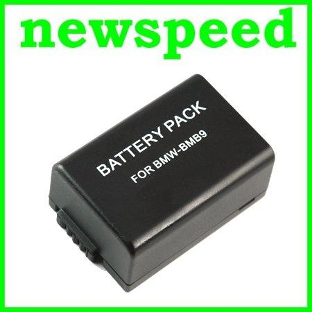 Grade A DMW-BMB9E Li-Ion Battery for Panasonic FZ100 FZ150 BMB9E