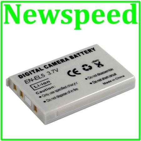 Grade A EN-EL5 Li-Ion Battery for Nikon P3 P4 P5000 P5100 P6000 ENEL5