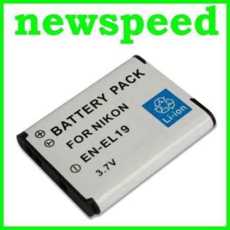 Grade A Li-Ion Battery for Nikon Coolpix S4200 S4300 S6400 ENEL19