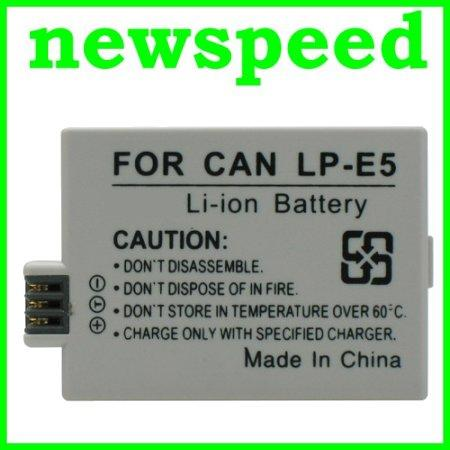Grade A LP-E5 Li-Ion Battery for Canon EOS 1000D Kiss X3 X2